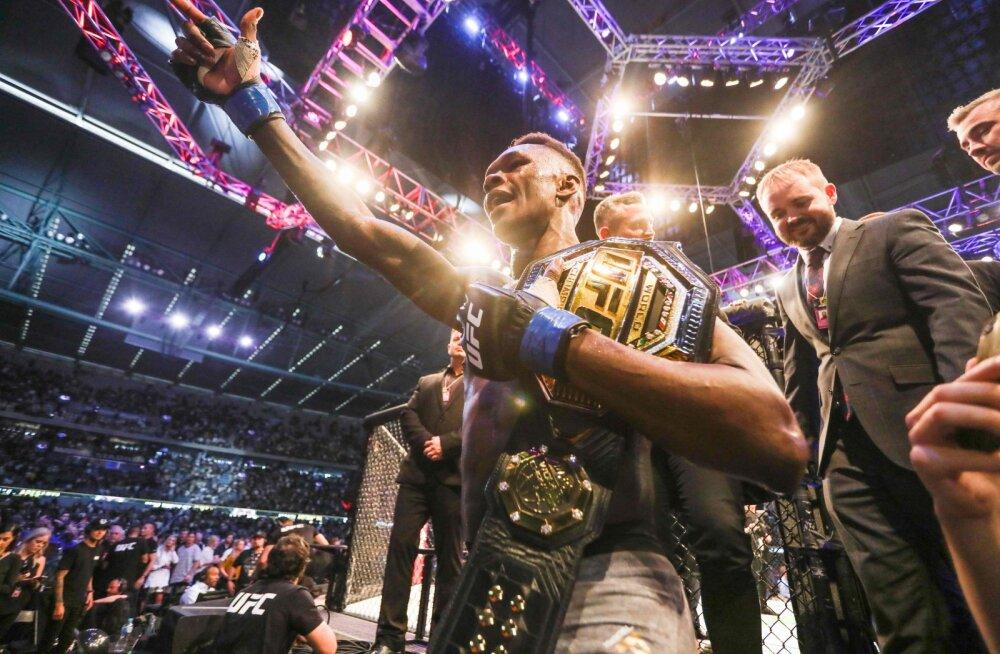 VIDEO | Uskumatu edulugu: alles 18 kuud tagasi UFC debüüdi teinud nigeerlane röövis kogenud Austraalia võitlejalt tema koduõuel maailmameistrivöö