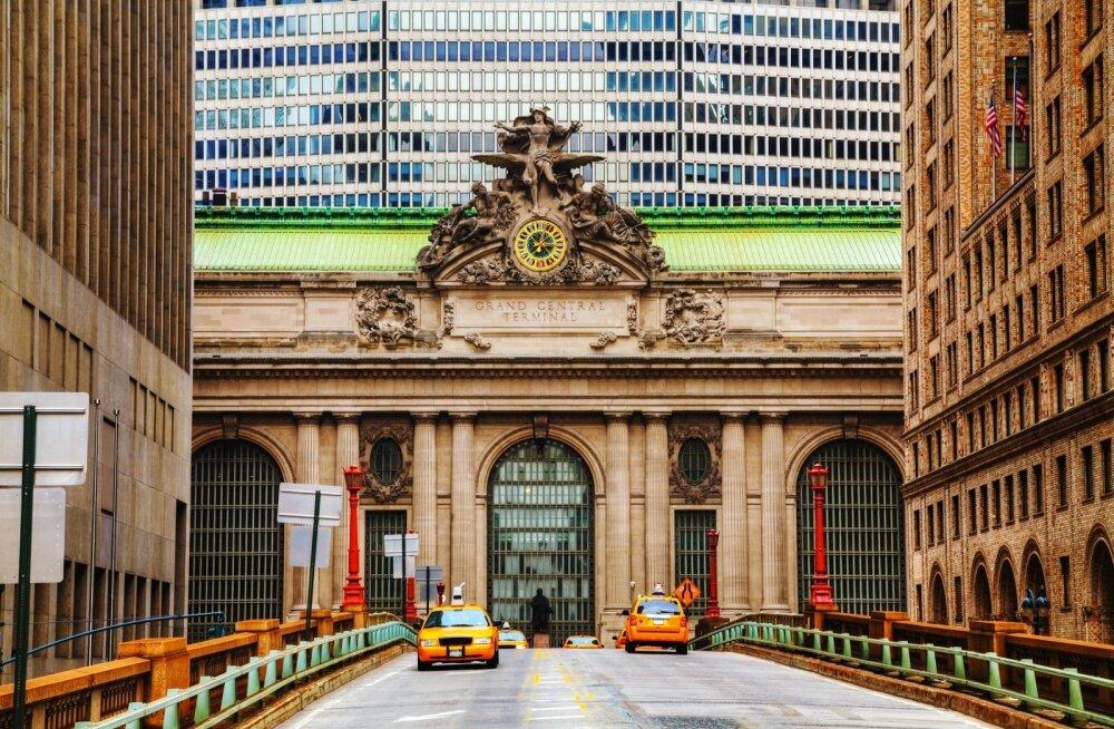 Juba raudteejaama saabumine on meeldejääv, kõige emotsio-naalsemad kohtumised Grand Central Terminali ajaloos on kindlasti aset leidnud Suudluste saalis.