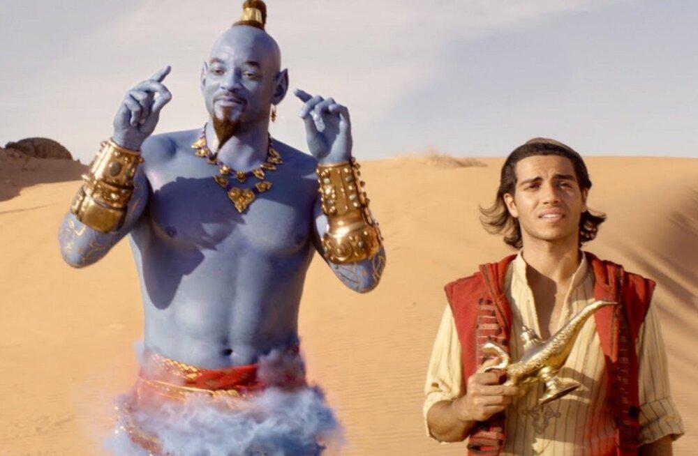 """NÄDALAVAHETUSE TOP 7   Disney """"Aladin"""" jõudis maagia abil esikohale"""
