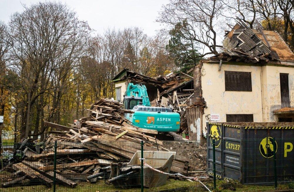 Narva mnt 96 lammutustööd