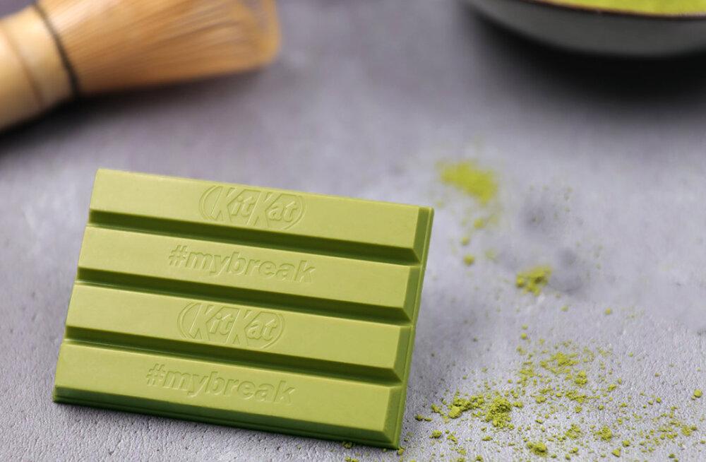 KitKati roheline šokolaad