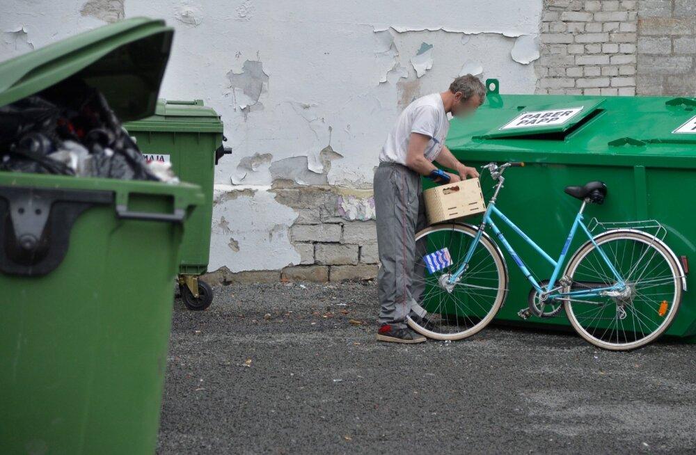 Varastatud jalgratas Telliskivi loomelinnakus