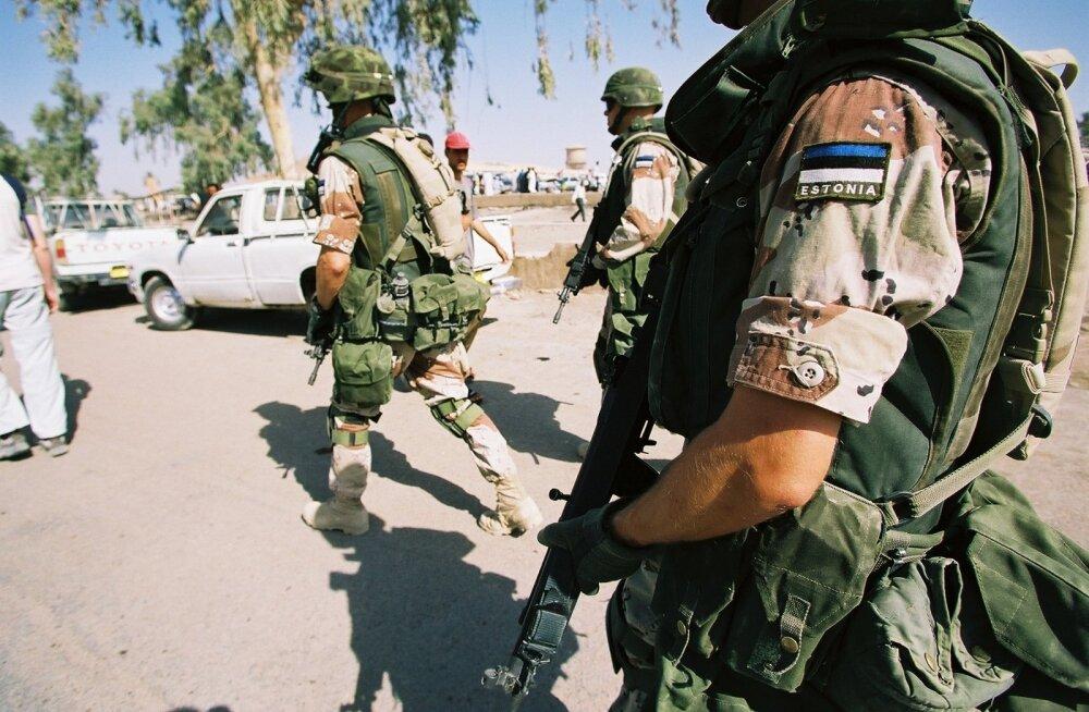 Eesti sõdurid Iraagis
