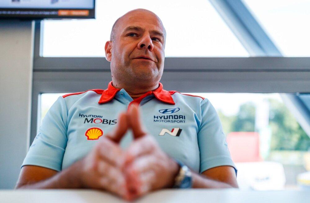 Hyundai pealik Adamo Rootsi oludest: vajadusel teavitame FIA-t, et oleme siin sporti tegemas, mitte eludega mängimas