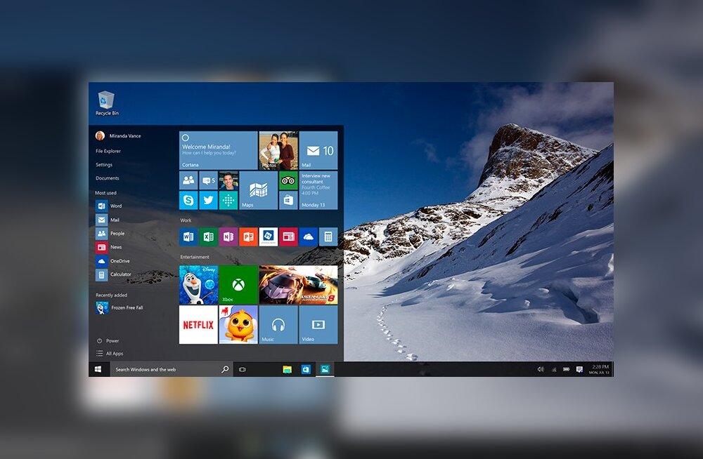Windows 10 on kui luureasutuse unelm: <em>botnet</em>, klahvinuhid, nuhkvara – kõik juba sisse ehitatud!