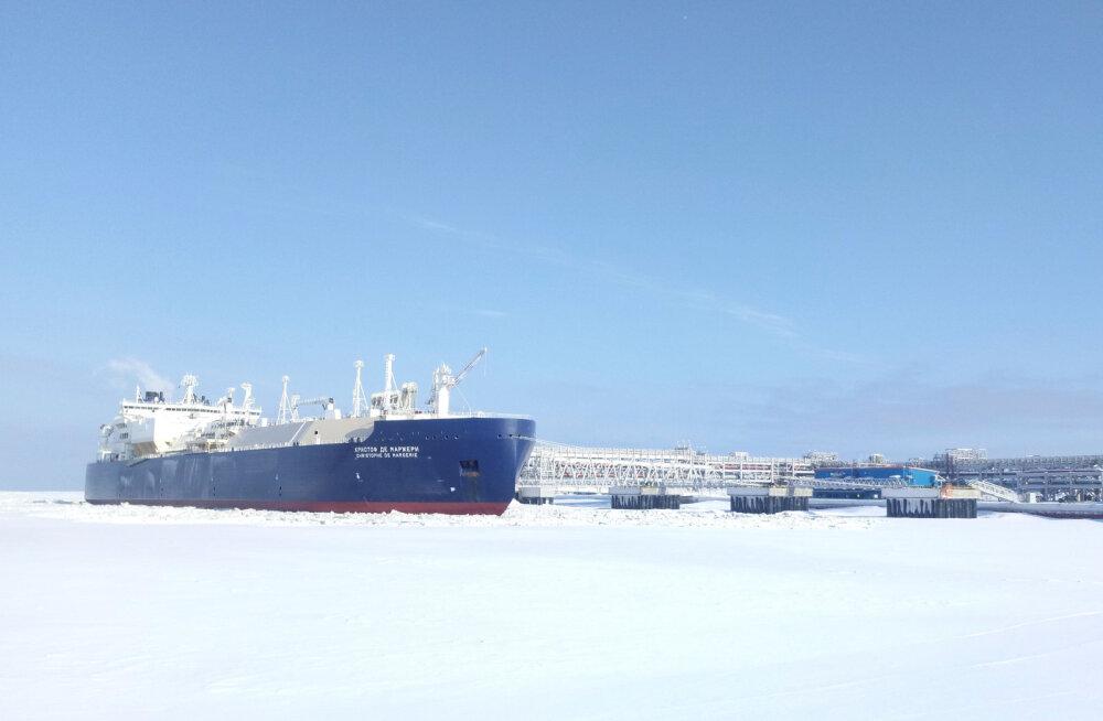 Kihutades läbi Arktika: Vene tanker purustas Kirdeväila läbimise kiirusrekordi