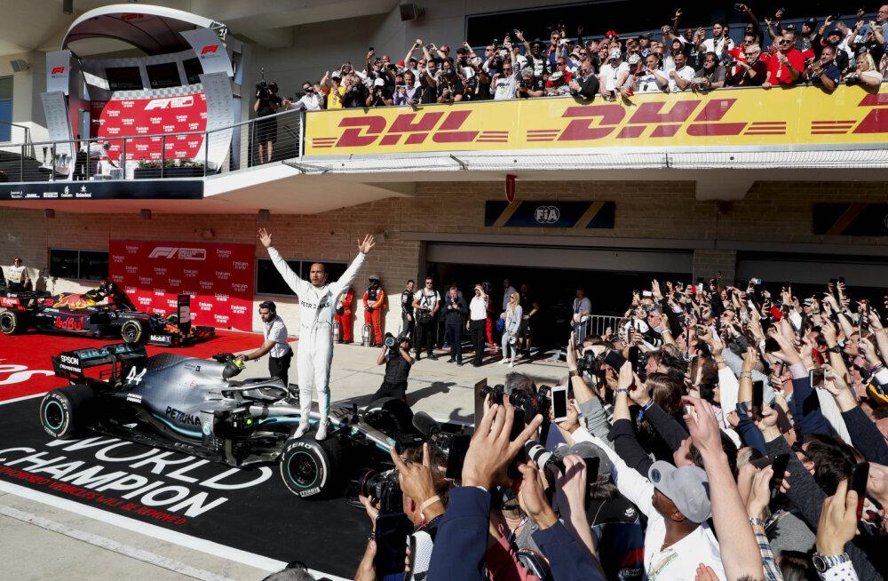 Kuuekordne maailmameister Hamilton: olen juba valmis järgmiseks sõiduks!