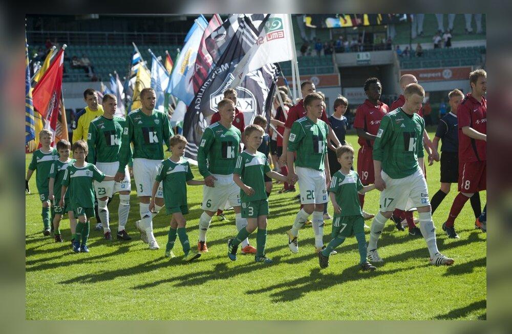 Tallinna Levadia karikafinaali eel, jalgpall
