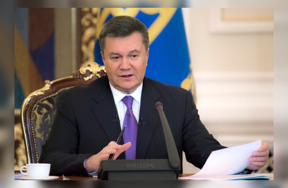 Janukovõtši pöördumine: nõuandjad on püüdnud mind kallutada jõu kasutamise poole