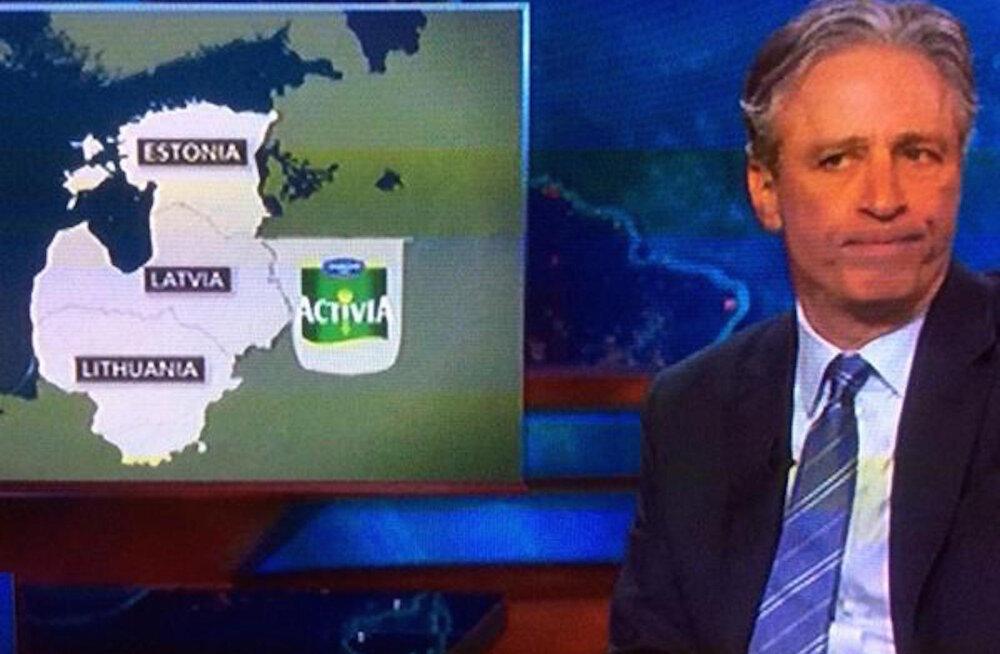 """MEENUTA: Rõivast võõrustav USA telesaade """"The Daily Show"""": me ei taha, et Bush seltsiks Ilvese-sugustega!"""