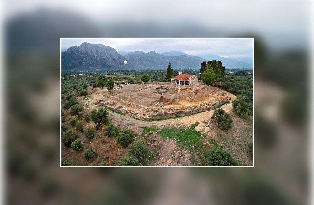 """Muistne """"palee"""" Sparta orus pakub arheoloogidele põnevaid leide juba aastaid"""