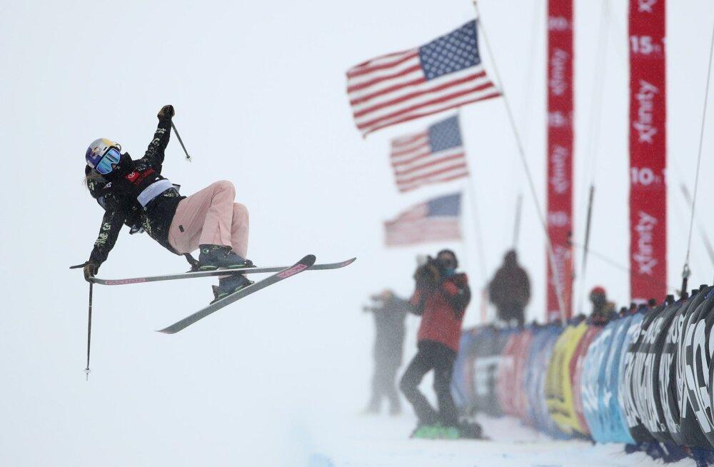 FOTOD JA VIDEO | Kelly Sildaru sai USA-s rennisõidu MK-etapil teise koha