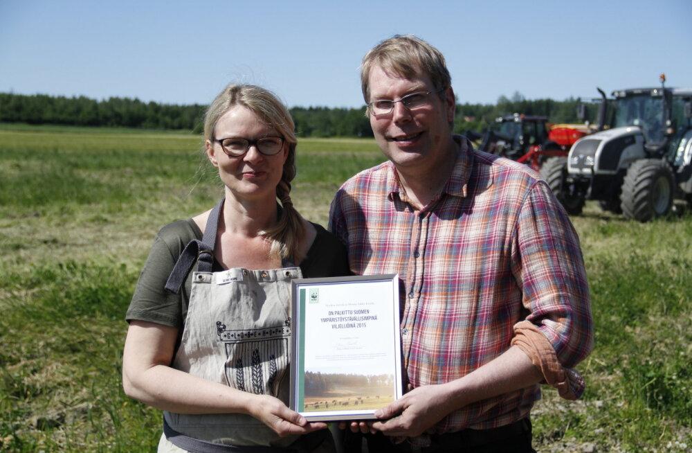 Selle aasta Läänemere-sõbraliku põllumajandustootja tiitel läks Soome