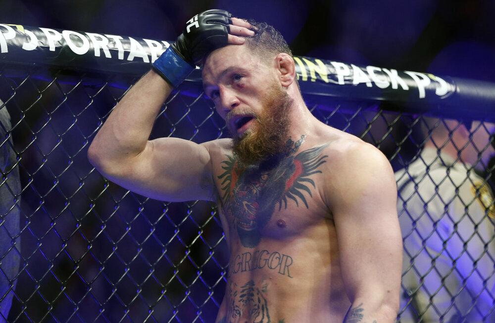 Selgus suurt tagasituleku tegeva Conor McGregori vastane
