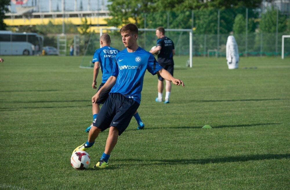 Noortekoondislane Frank Liivak avas hooaja väravaga!