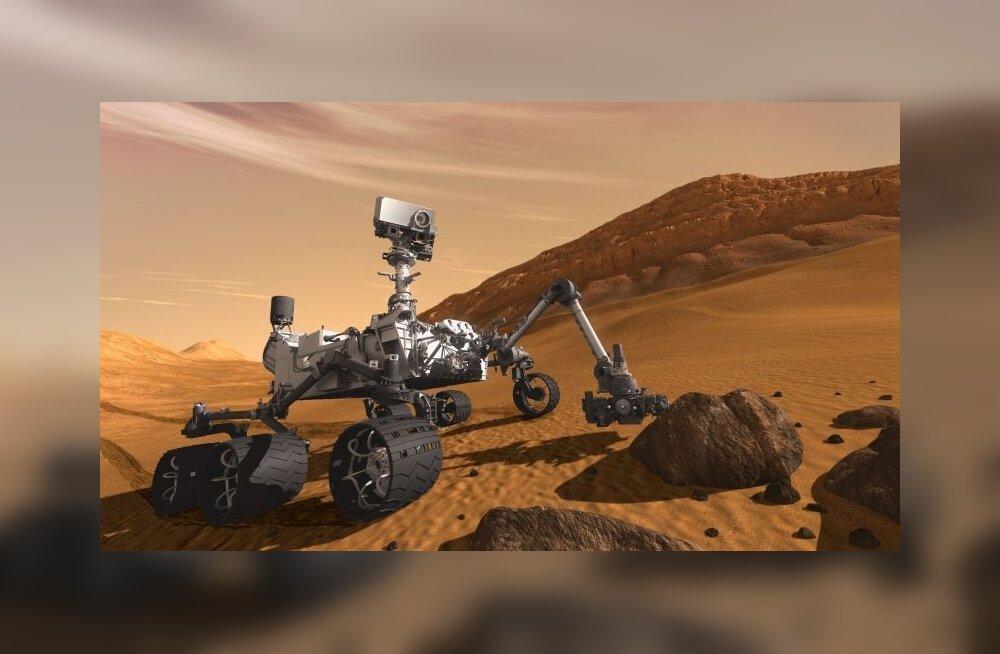 Ikka väikeste sammudega: NASA saadab 2020. aastaks järgmise kulguri Marsile