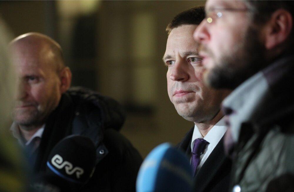 Eile õhtul pärast kella kaheksat lõppes kolme valitsuserakonna juhi kriisikoosolek. Peaminister Jüri Ratas ütles, et ränderaamistiku asjus ollakse endiselt eri meelel.