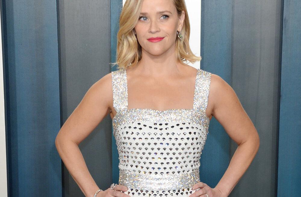 Reese Witherspoon avalikustab lihtsa reegli, mis aitab perega karantiinis toime tulla: see on alles meie 11. päev