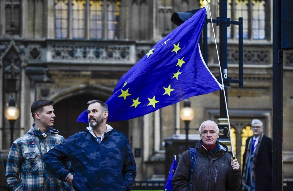 Brexiti vastane protest Londonis