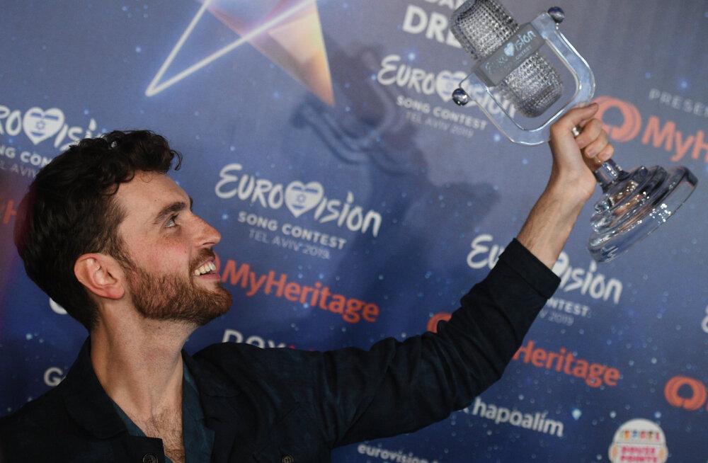 Järgmise aasta Eurovisiooni korraldamise võidujooks - Amsterdam vedas alt!