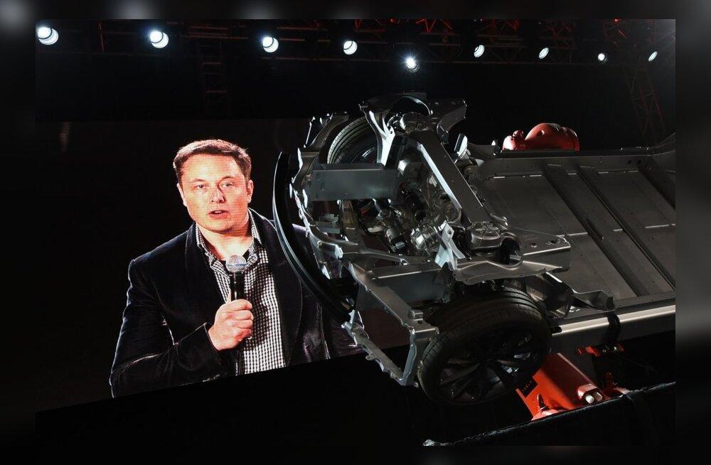 Tesla juht Elon Musk