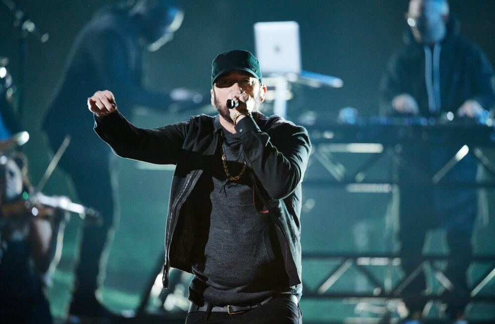 Eminem põhjendab, miks ta Oscarite jagamisel esinemisega 17 aastat ootas: see üritus ei olnud minu jaoks valmis