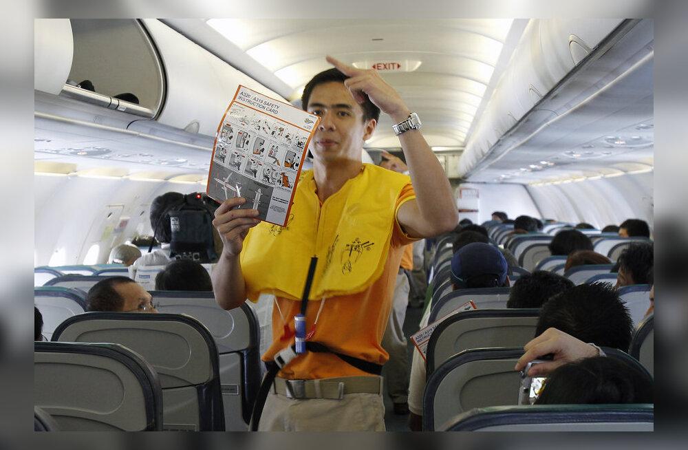 EDETABELID: millises lennukis on rohkem istumisruumi, elektrit ja Internetti