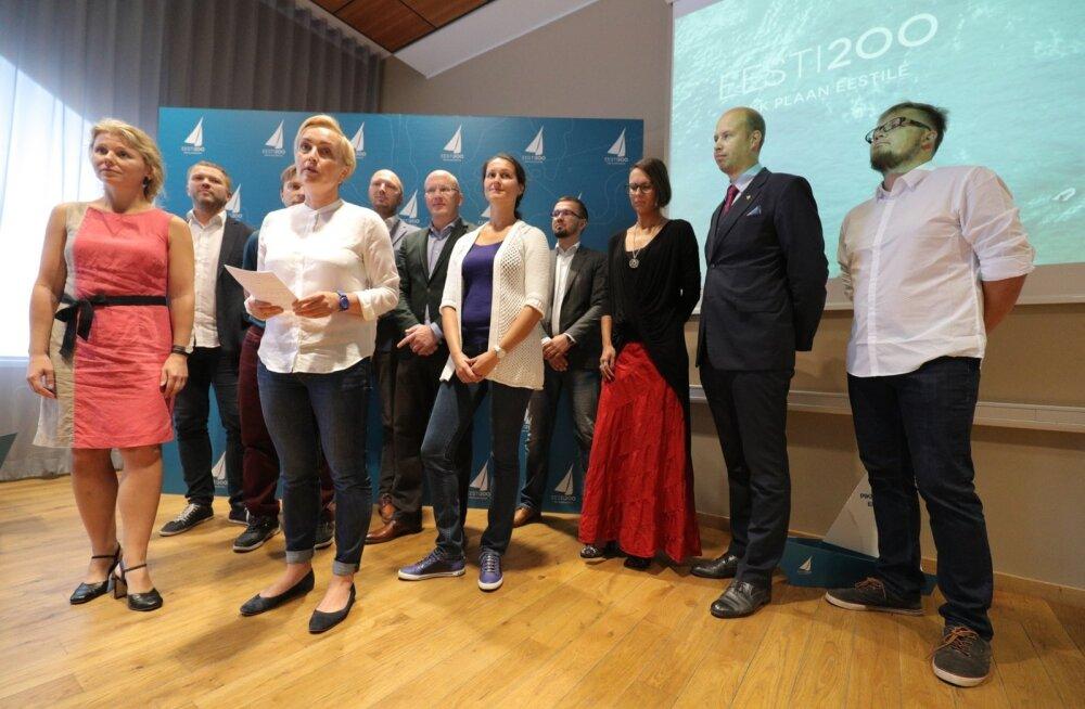 Eesti 200 avalikustab Hooandjas annetanute nimed