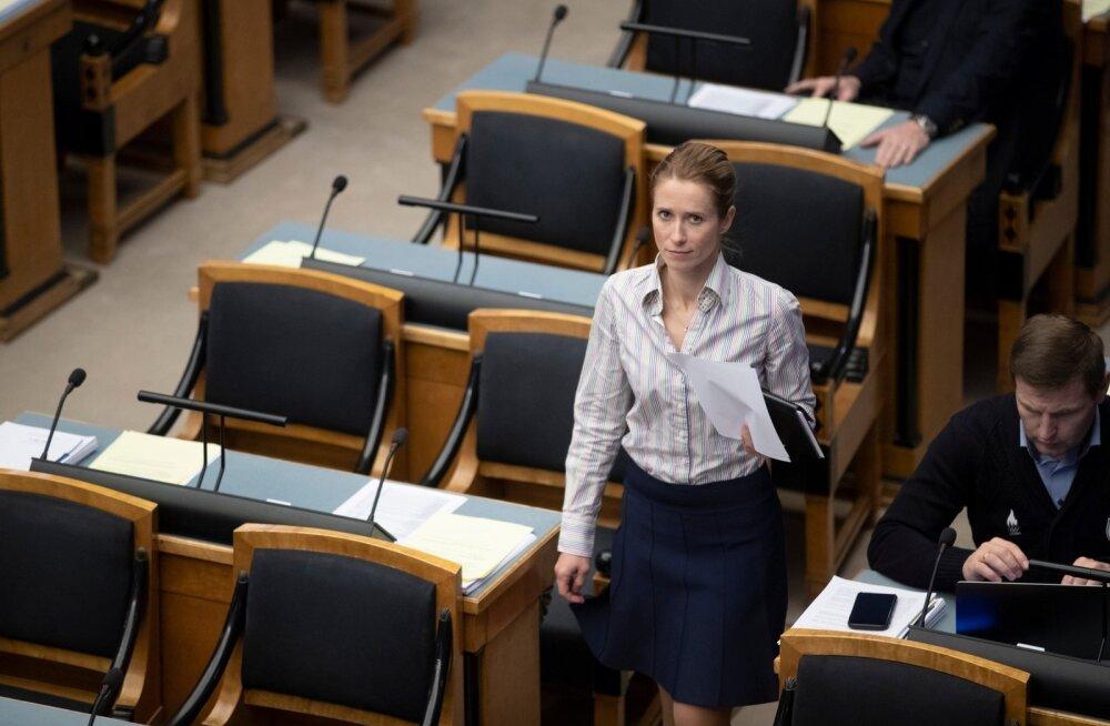 Kaja Kallasele edastati neljapäeval räige tapmisähvardus
