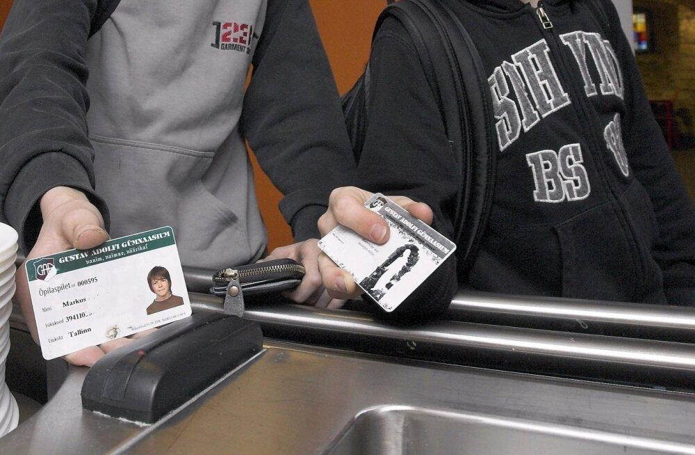 e-õpilaspilet 2007. aastal GAGis