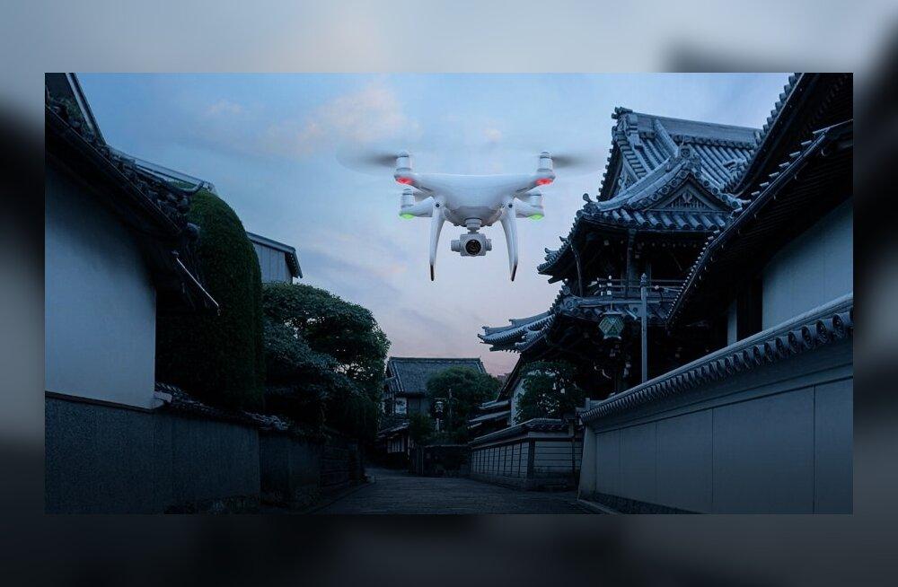Uus reegel: kui DJI drooni ei registreeri, siis kaugele see ei lenda!
