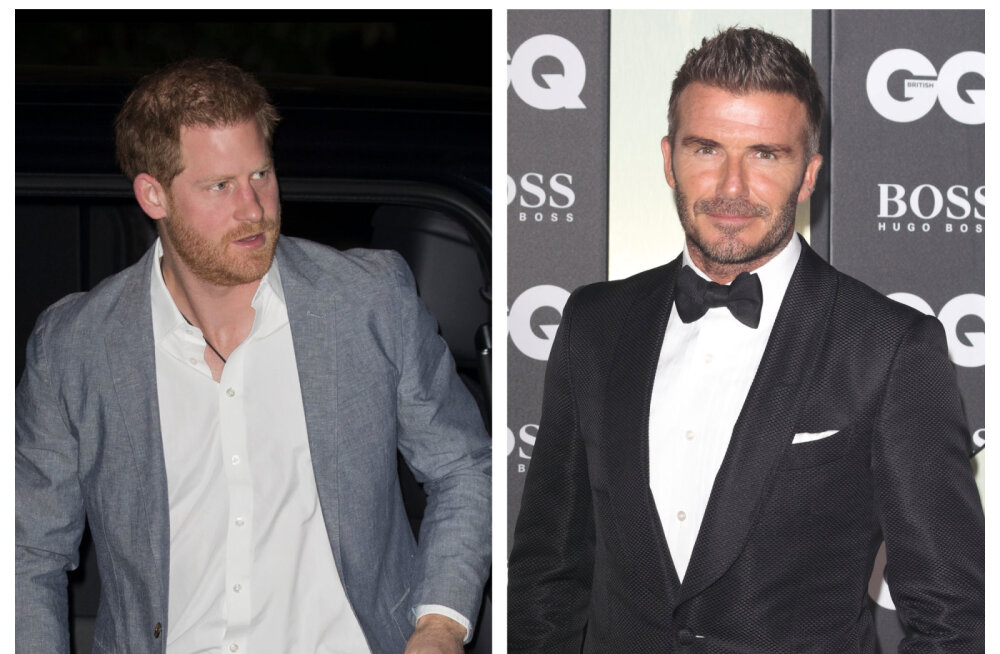 Prints Harry ja David Beckhami suhted olid pikka aega jahedad: prints oli veendunud, et Victoria lekitab meediale informatsiooni