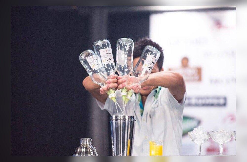 Эстония впервые принимает чемпионат мира по приготовлению коктейлей