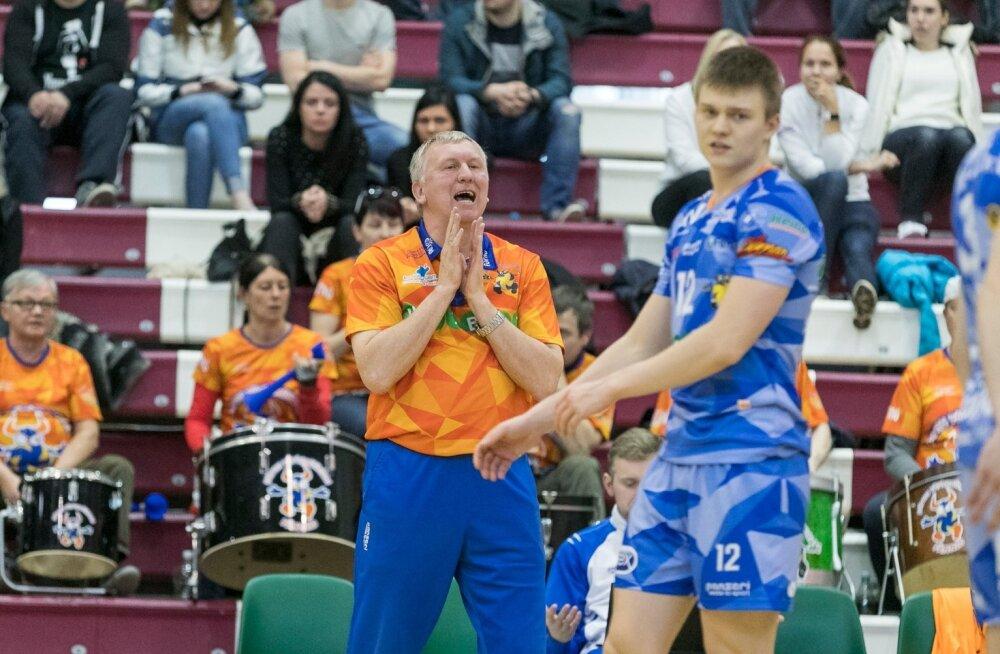 Tallinna Selver mängis eile Avo Keele ja Pärnu meeskonna üle.