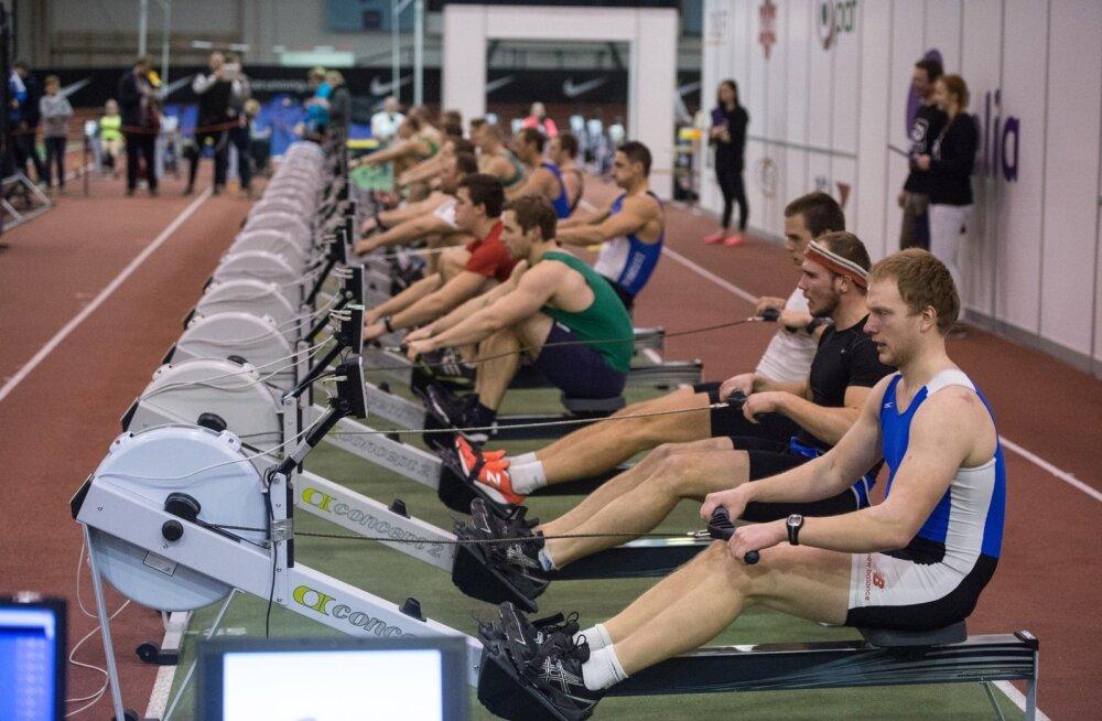 Sisesõudmine Alfa 2016 Audentese spordihoones