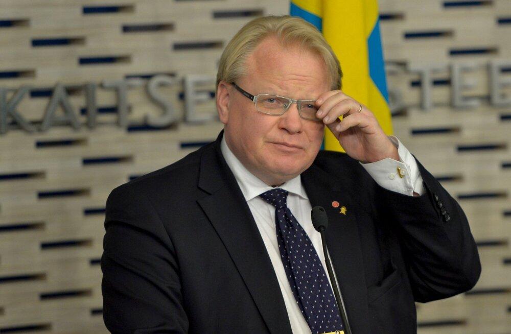 Eesti ja Rootsi kaitseministrite pressikonverents