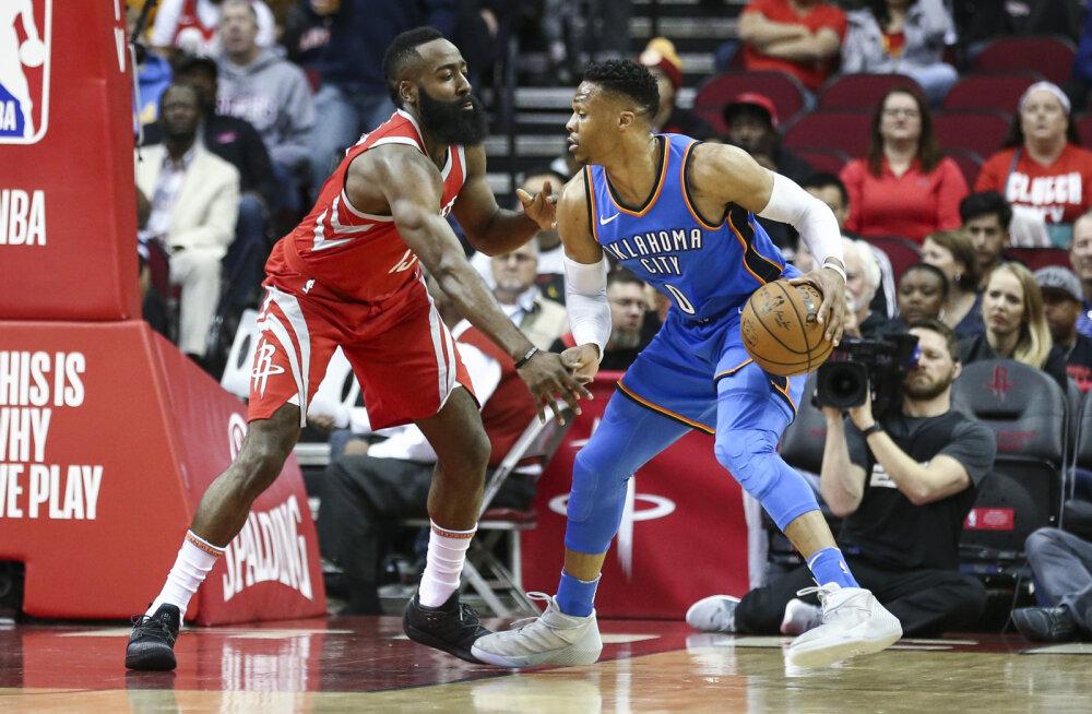 Aasta vahetustehing NBA-s: Westbrookist ja Hardenist saavad taas tiimikaaslased!