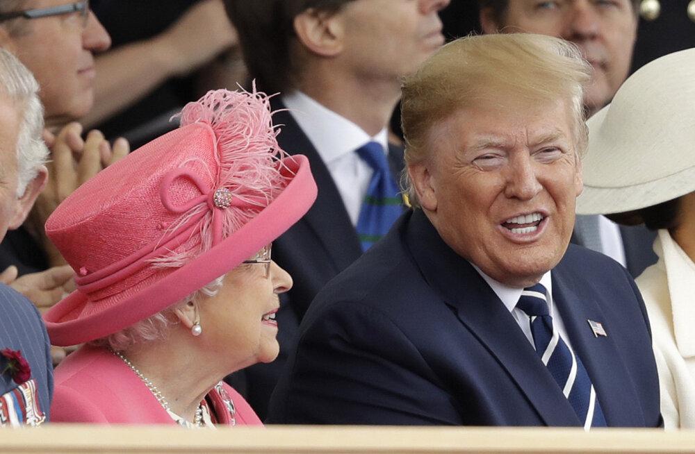 TOP 10 | Piinlik riietus ja igavlevad kuninglikud: kõige naljakamad memed Trumpi külastusest