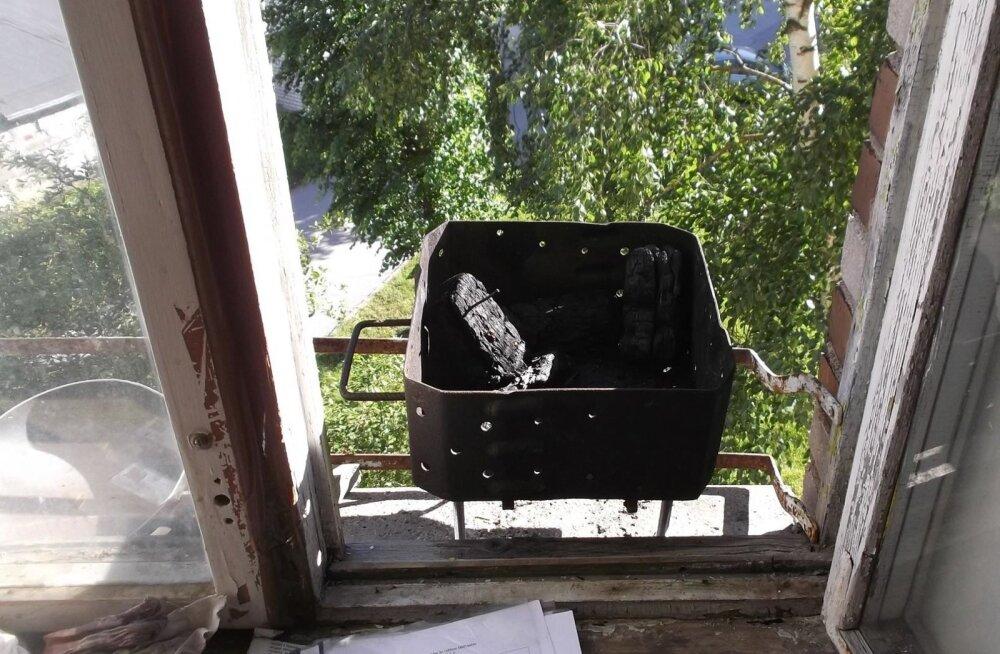 Grillimine korteris, Narva