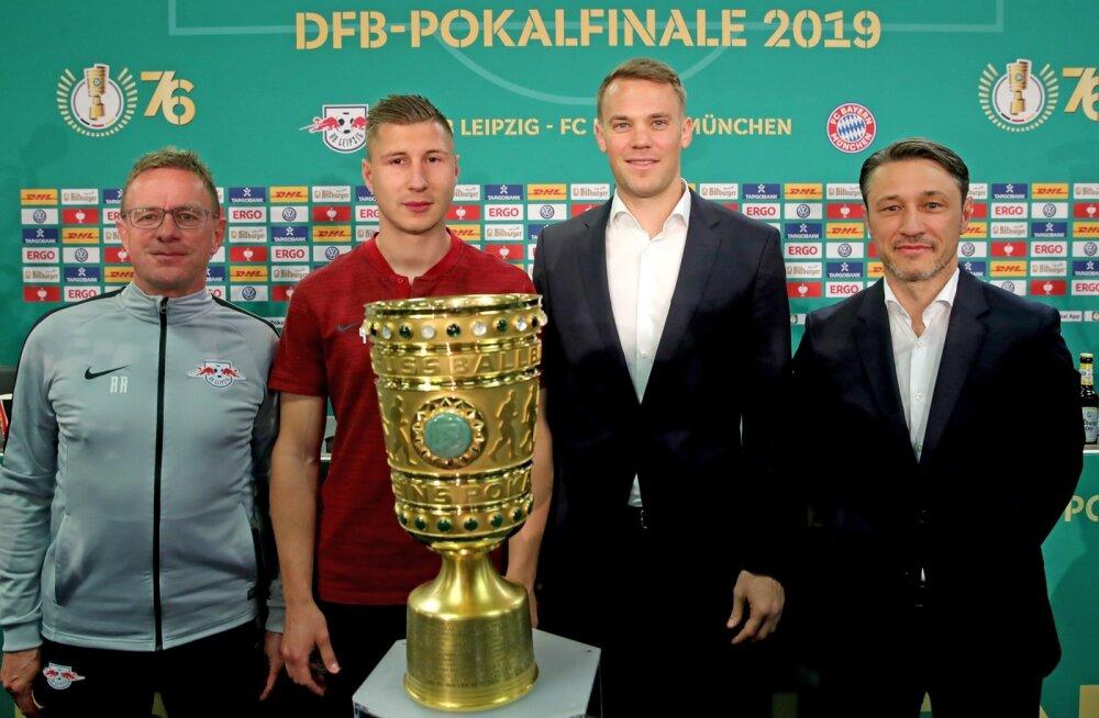 Karikafinaalis kohtuvad Müncheni Bayern ja Leipzig