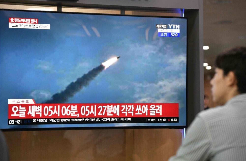 Põhja-Korea korraldas uue raketikatsetuse