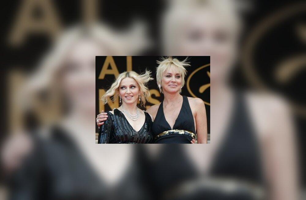 Madonna ja Sharon Stone