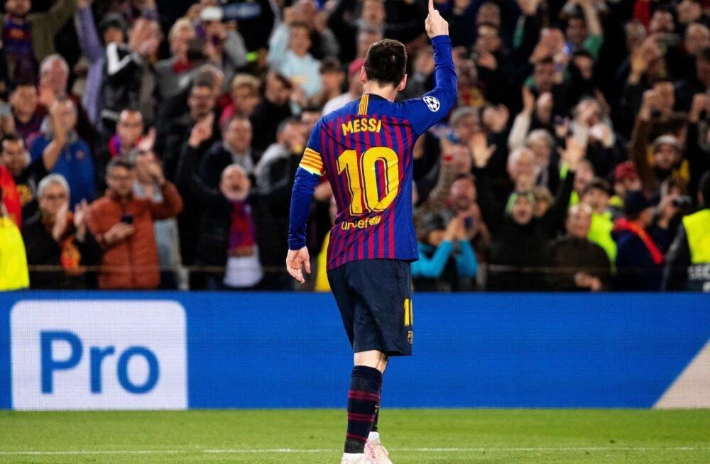 Lionel Messi näitab kõigile, et ikkagi tema on nr. 1.