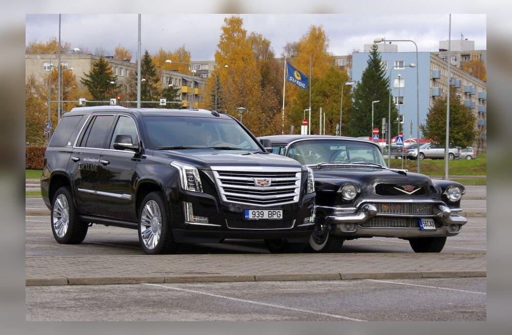 WhatCar?-i proovisõit: Cadillaci maastur Escalade – suur, suurem, kõige suurem