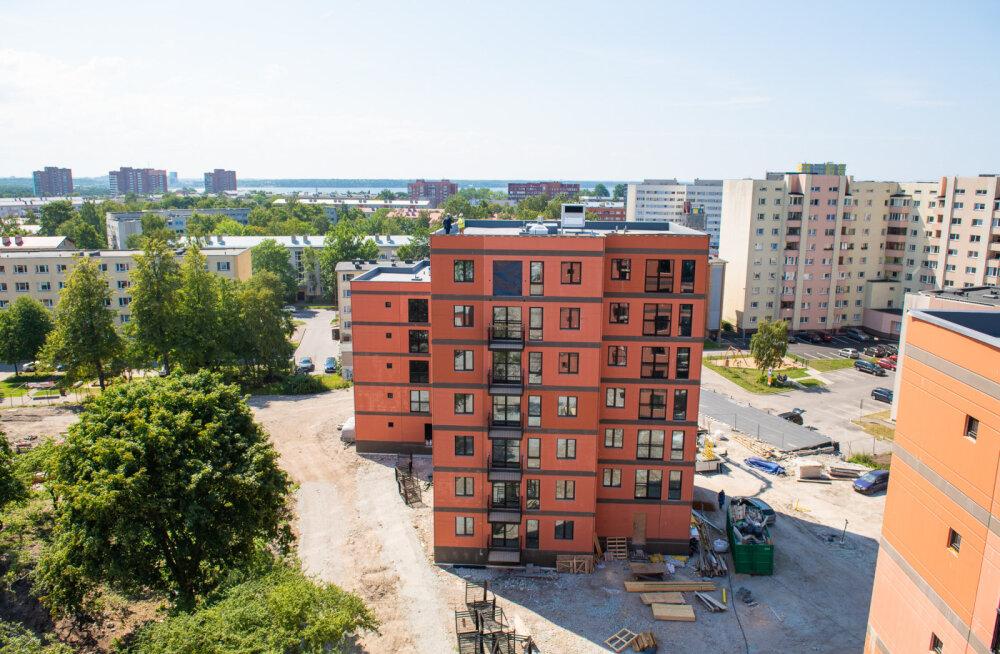 FOTOD | LHV-s pensioni koguvad inimesed ehitavad Tallinna eri paigus üürikortereid