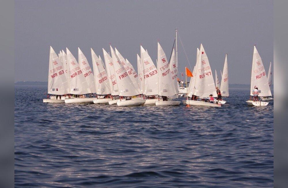 Saaremaa merispordi seltsi regatt toob veele ligi 100 noorpurjetajat
