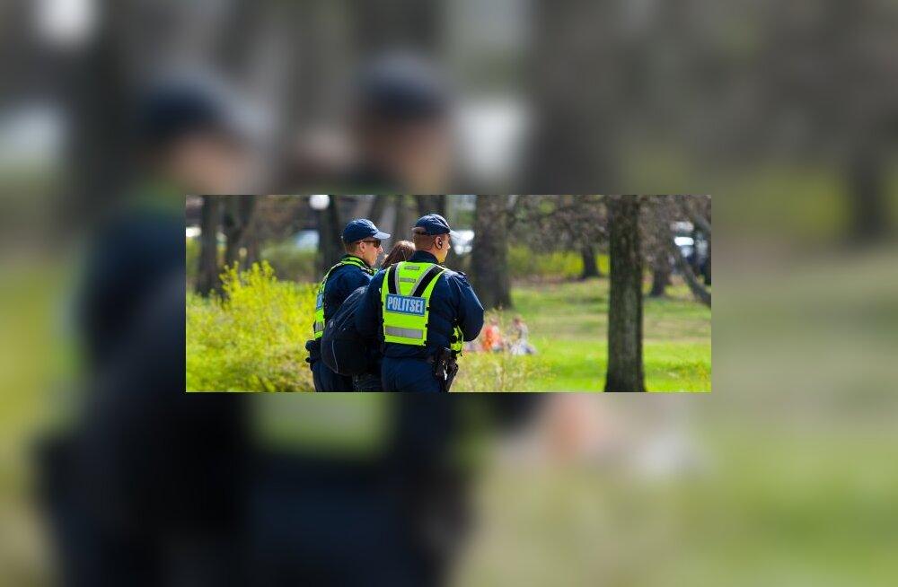 Задержанный в Кадриорге парень не мог слышать распоряжений полиции