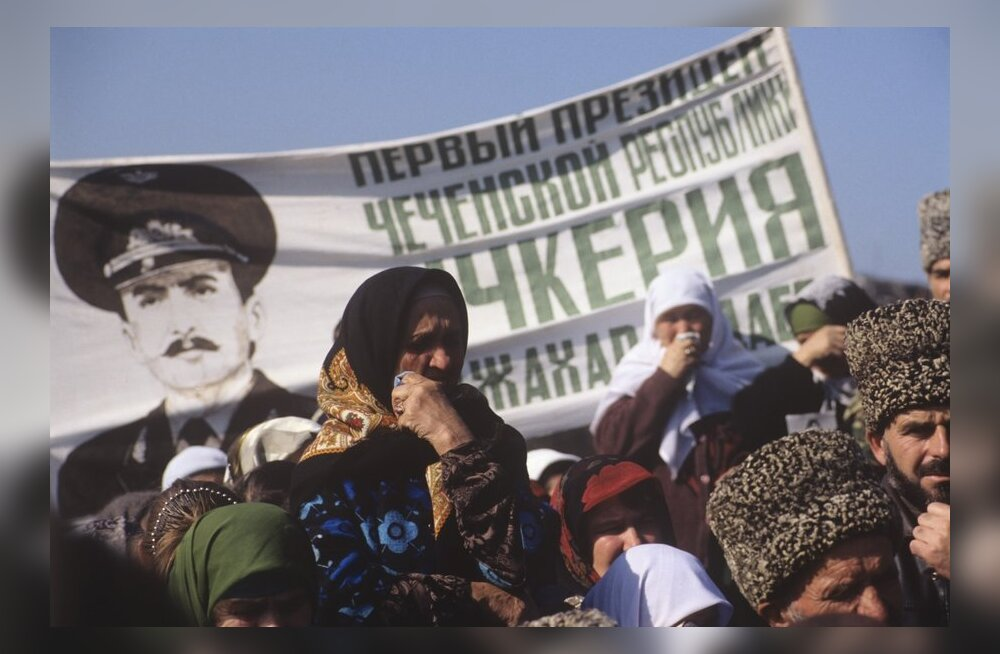 Meeleavaldus Groznõis Džohhar Dudajevi ametissepühitsemise viiendal aastapäeval