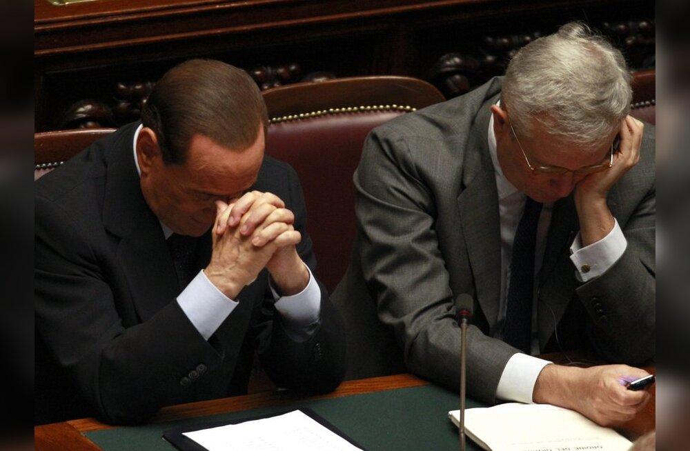 Itaalia senat kiitis valitsuse kärpekava heaks