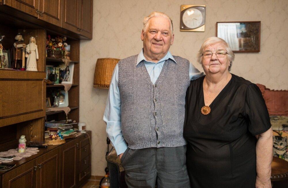 ФОТО и ВИДЕО: В семье Кяэрт веселья хватало и тогда, когда было очень трудно
